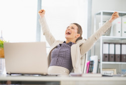 happy-business-woman
