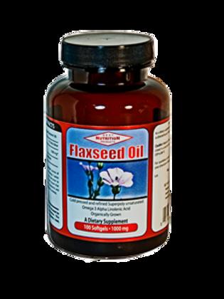 Flaxseed Oil 1,000mg - 100 softgel