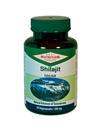 Shilajit Capsules 500mg 60 Vegicaps/bottle