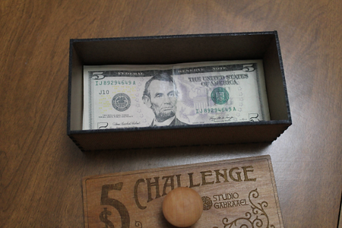 $5 Challenge Savings Box