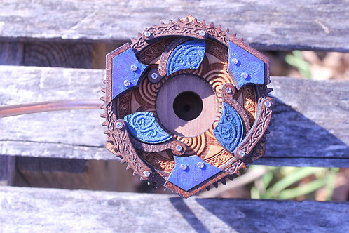 Time Warden #16 Blue and Brown