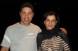 Duda Moura e Marina Lima