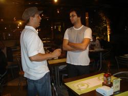 Duda Moura e Caio Ignacio
