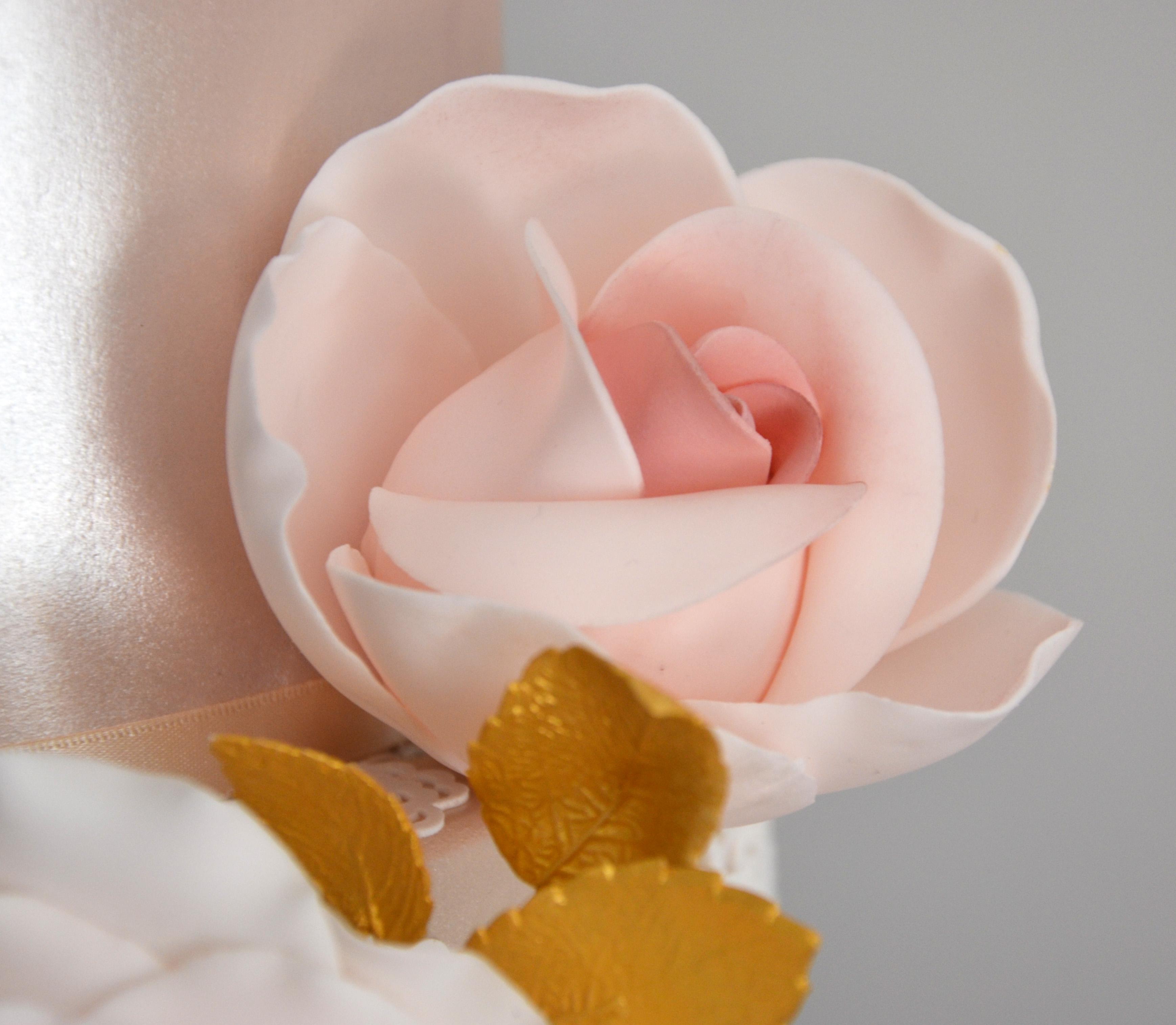 Handmade sugar rose