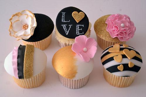 Glitz & Glam Cupcakes