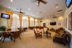 Clubhouse lounging room
