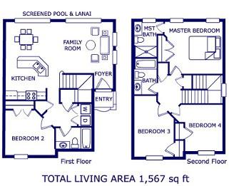 Floor plan of your home