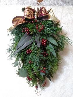クリスマス スワッグ