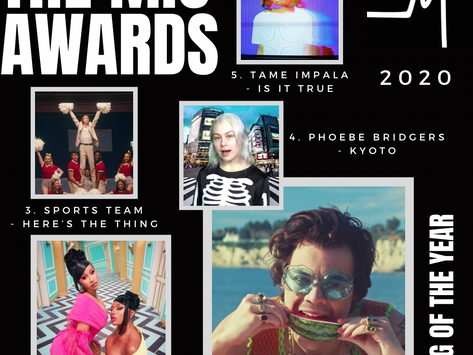 THE MIC AWARDS 2020: SONGS OF THE YEAR