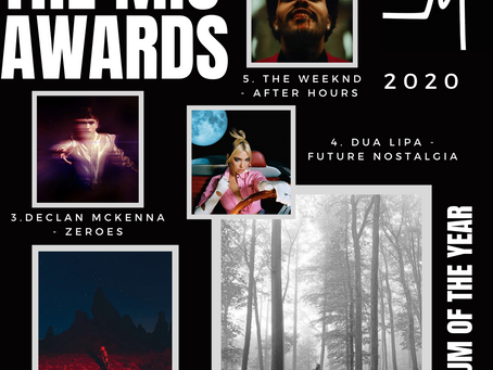 THE MIC AWARDS 2020: ALBUMS OF THE YEAR