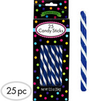 Royal Blue Candy Sticks