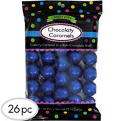 Royal Blue Caramel Balls