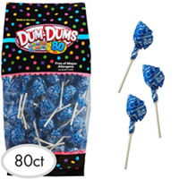 Royal Blue Dum Dums Lollipops