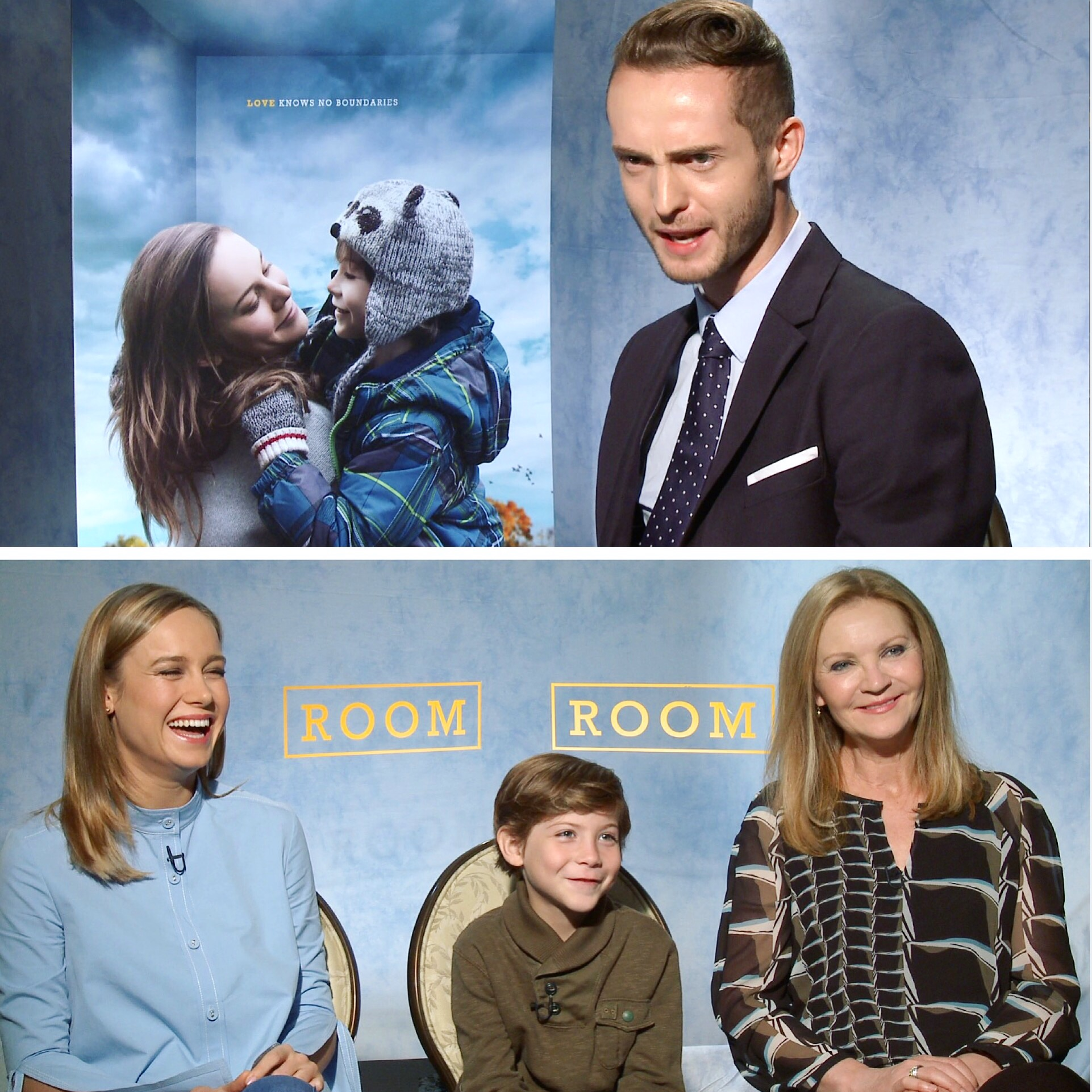 Pre-Oscars Interview for 'Room'.