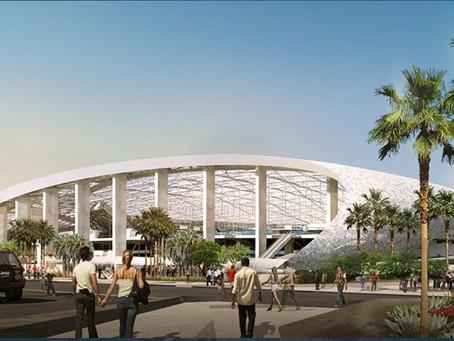 イングルウッドのNFLスタジアムが2020年完成に向けて進行中!