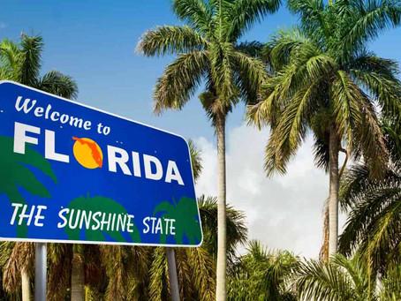 アメリカでの引越し先、第一位はフロリダ州