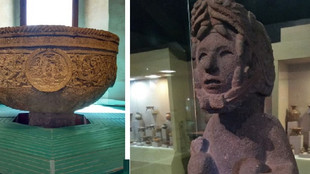 Resguardan museos del Edoméx joyas arqueológicas