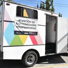 En Edoméx más de 70 mil atenciones de salud a través de unidades médicas móviles
