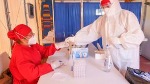 Instalan módulo de pruebas de detección de COVID-19 en el Hospital General 90 Camas