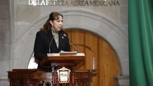 Comparece Secretaria del Campo, Mercedes Colín, ante el Pleno de la LXI Legislatura Edoméx