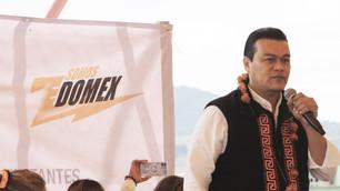 Inicia senador por Movimiento Ciudadano gira por el Estado de México