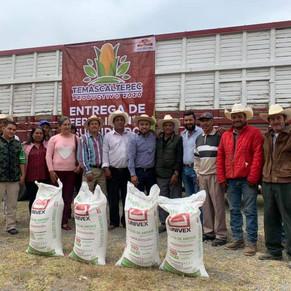 Temascaltepec destinó 7.1 mdp entre 2019 y 2020 para programa de fertilizante