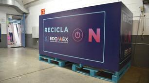"""Continúa """"Recicla On"""" de la CAEM en recolección de desechos electrónicos"""