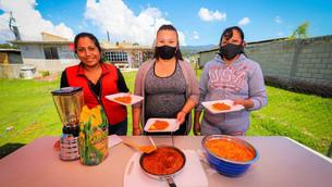 Imparten cocina-escuela en comunidades vulnerables del Estado de México