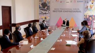 Se reúne Del Mazo con líderes empresariales para continuar trabajo de reactivación económica