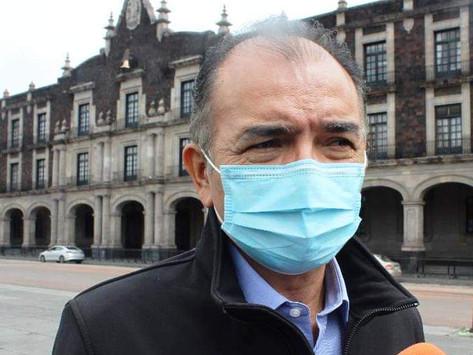 Rigo López alcalde electo de Tejupilco gestiona en Toluca para fortalecer su próxima administración