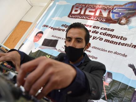 Repara gobierno de Ecatepec equipos de computo gratis durante la pandemia