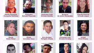 Recompensa de hasta 300 mil pesos por localizar a 17 personas desaparecidas