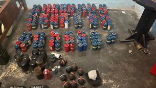 Catean inmueble en Edoméx donde almacenaban armas, cartuchos y material militar
