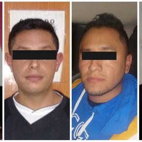 Detienen a cinco por vandalizar mobiliario urbano en Ecatepec