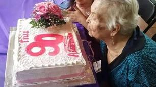 Doña Nico y sus 90 años de sencilla y sabia existencia