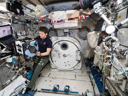 Registra Estación Espacial internacional tripulación más numerosa en diez años