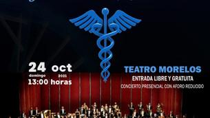 Con concierto especial, rendirá OFiT homenaje a los médicos