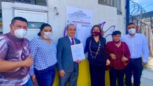 Diputados reelectos de Morena reciben constancias de mayoría