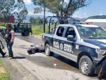 Emboscan en Ixtapan de la Sal a alcaldesa electa de Pilcaya Guerrero; hay dos escoltas muertos