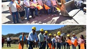 Arranca Polo en San Pedro Limón las primeras obras de su administración