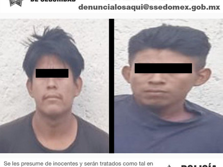 Los detienen en Tejupilco por efectuar disparos