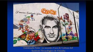 """Con murales recuerdan a Francisco Gabilondo Soler """"Cri-Cri"""""""