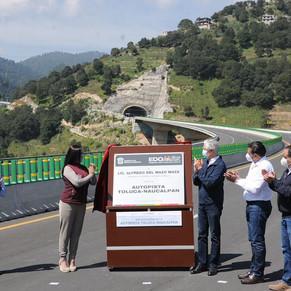 Inaugura ADMM autopista Toluca-Naucalpan