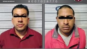 Detienen en Toluca a dos sujetos por violación