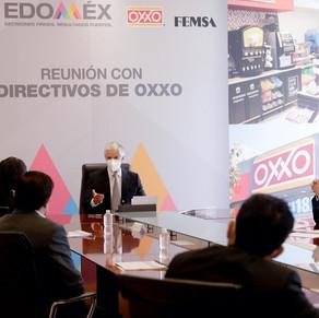 Reunión Del Mazo-Oxxo traerá a Edoméx inversión por más de mil 600 mdp en tres años