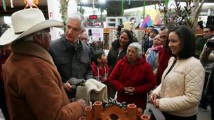 Refrenda Alfredo Del Mazo apoyo a artesanos mexiquenses