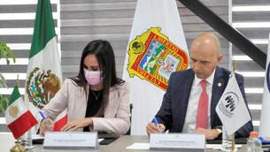 Firman Secretaría de la Mujer y Consejo Ciudadano para la Seguridad y Justicia convenio