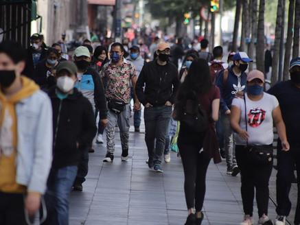 Registra México casi 25 mil casos de covid en 24 horas