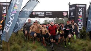 Todo listo para el Spartan en Valle de Bravo