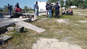 Dos lesionados, saldo de explosión en taller de pirotecnia en Zumpango